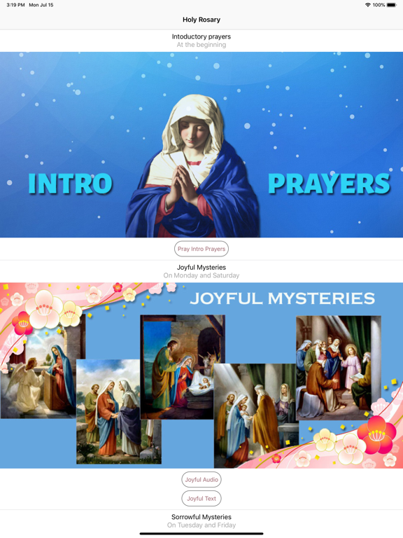 Holy Rosary With Audio & Text screenshot 6
