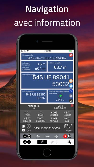 Screenshot #3 pour Coordinates - Formateur GPS