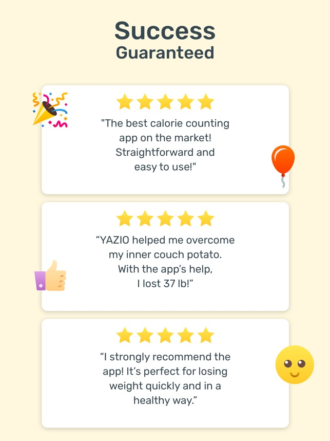 YAZIO — Diet & Food Tracker on the App Store