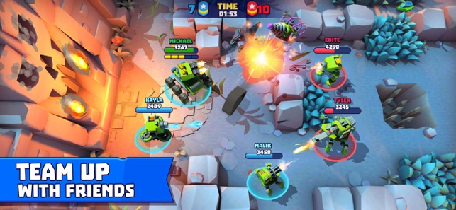 How to hack Tanks A Lot - 3v3 brawls for ios free