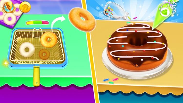 Donut Baking & Cooking Game screenshot-3