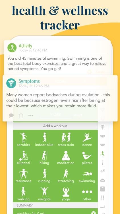 Ovia Fertility & Cycle Tracker screenshot-4