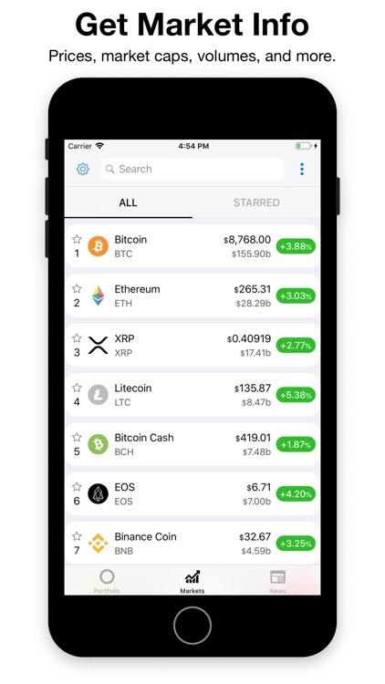 CryptoPal - Bitcoin Tracker screenshot-3