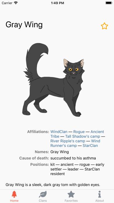 Warriors Characters screenshot 4