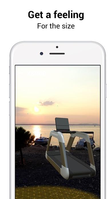 DHZ Fitness ARScreenshot von 6