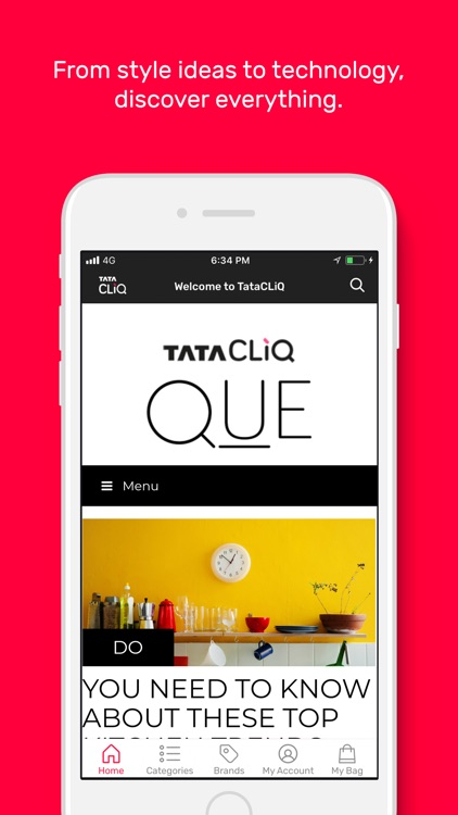 Tata CLiQ -Online Shopping App screenshot-2