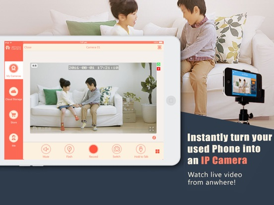 AtHome Camera Free - Remote video surveillance for home security screenshot