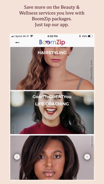 BoomZip Beauty/Wellness TO YOU screenshot-7