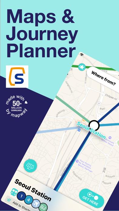 Seoul Metro Subway Map screenshot one
