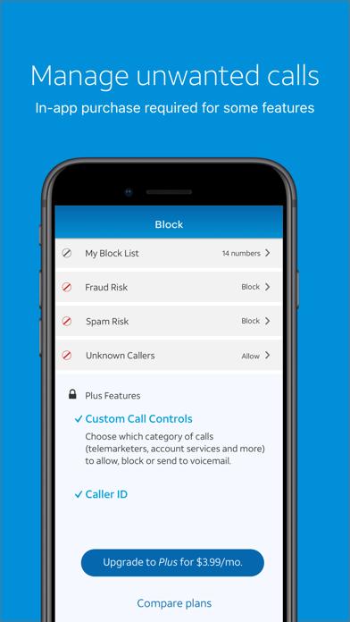 AT&T Call Protect Screenshot