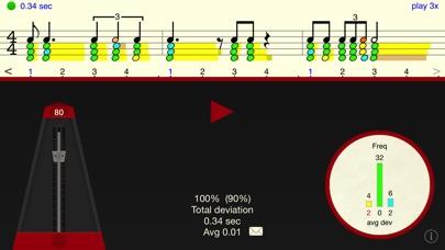 Rhythm Sight Reading Trainer app image