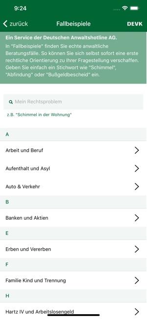 Devk Rechtsschutz App On The App Store