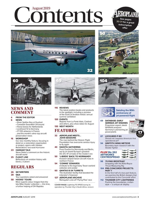 Aeroplane - Aviation Magazine on the App Store