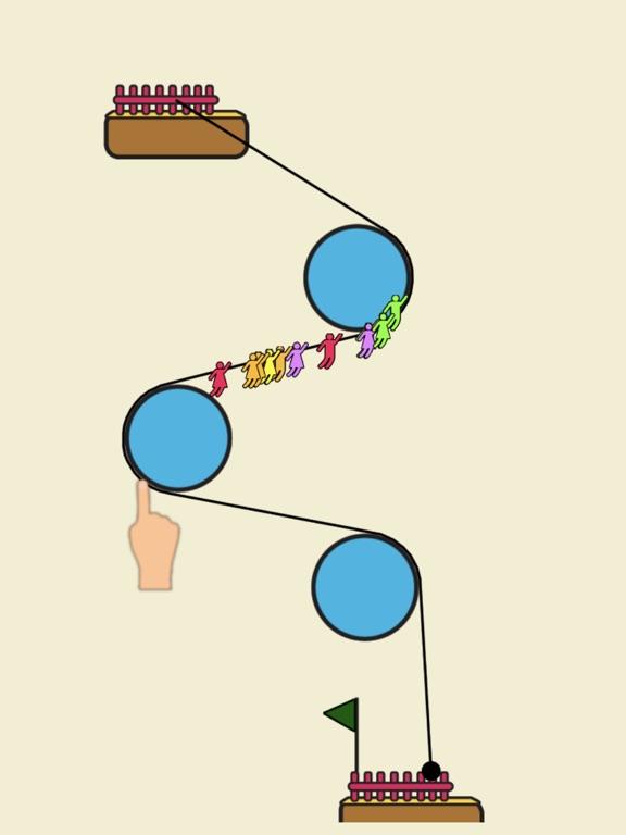 Rope Rescue! - Unique Puzzle screenshot 7