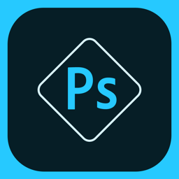 Ícone do app Adobe Photoshop Express:Editor