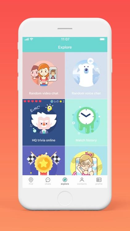 SayHi Chat - Meet New People screenshot-3