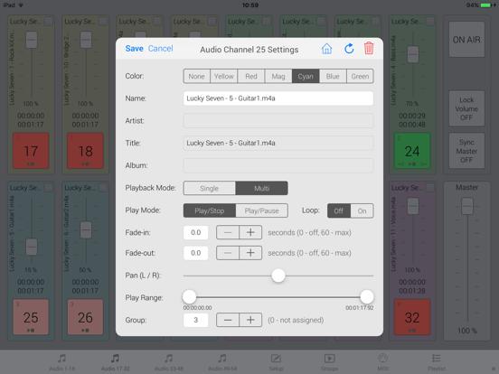 iMiX16 Band screenshot