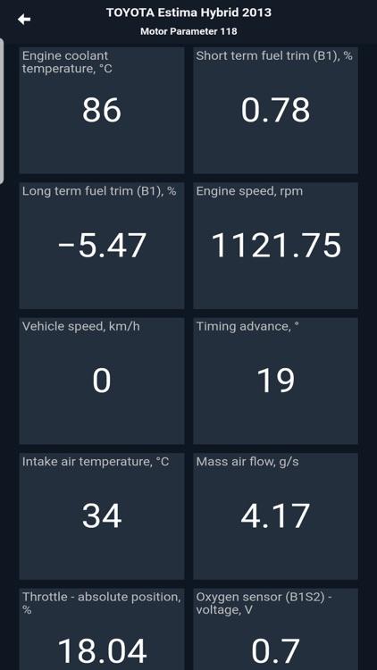 MotorData OBD ELM car scanner screenshot-8