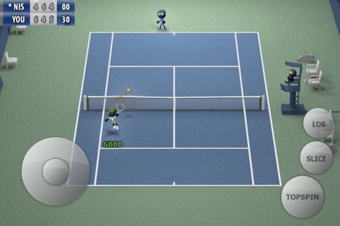 Stickman Tennis - Career - náhled