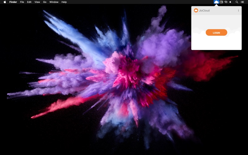 JioCloud for Mac