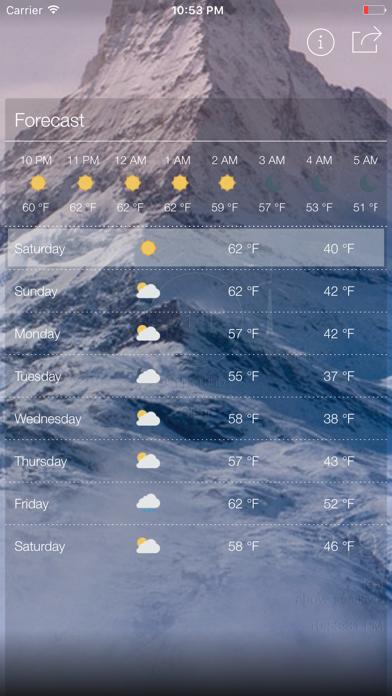 ハイパーローカル天気と正確な標高のおすすめ画像2