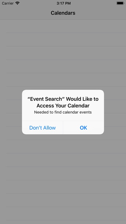 Search In Events