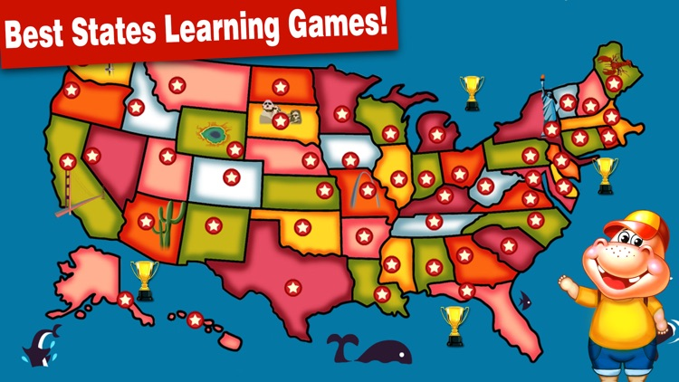 Fifty States and Capitals Game