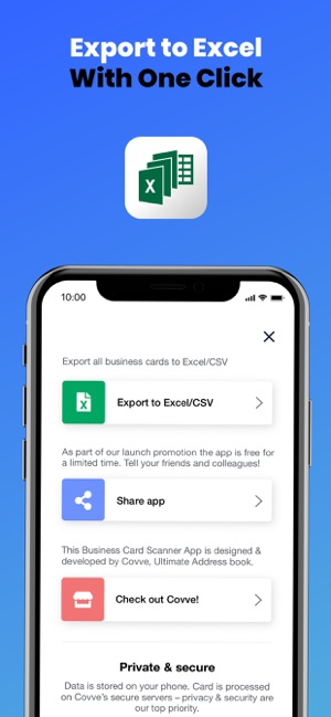 Business Card Scanner By Covve Im App Store