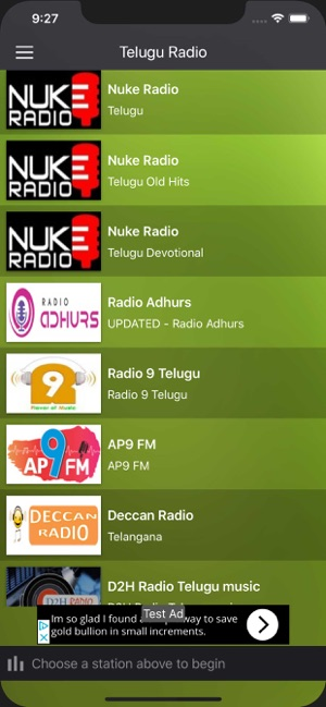 Telugu Radio FM - Telugu Songs on the App Store