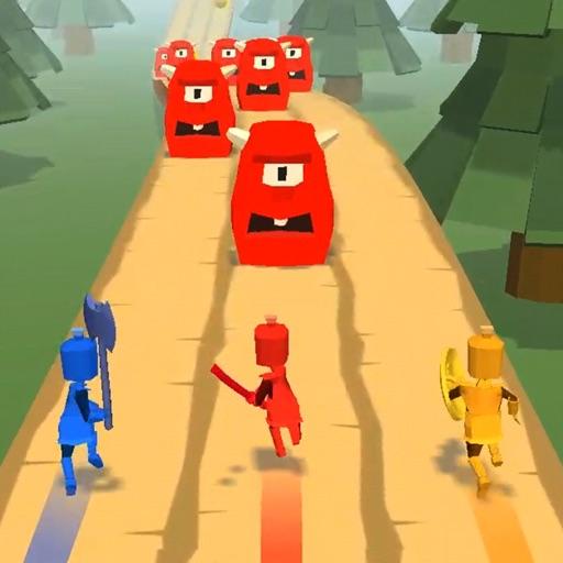 Swipe Heroes 3D