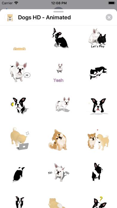Dogs HD - Animated screenshot 4