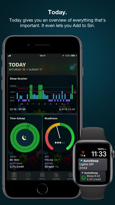 Screenshot for AutoSleep Tracker for Watch in Hong Kong App Store