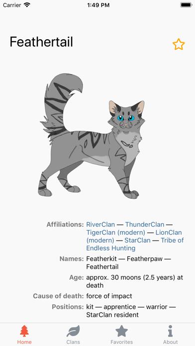 Warriors Characters screenshot 5