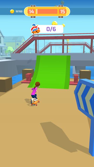 Skater Race screenshot 4