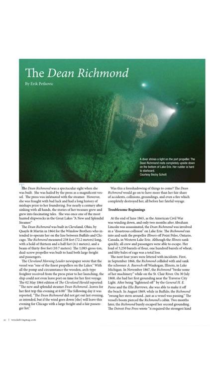 Wreck Diving Magazine screenshot-3