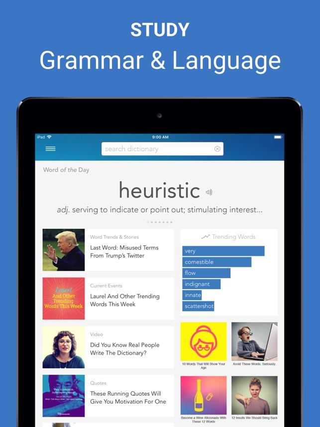 Dictionary com Pro for iPad