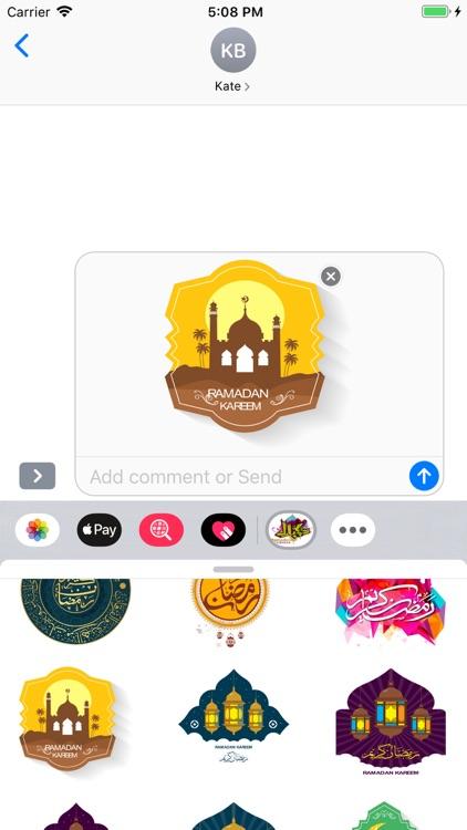 Ramadan Kareem Stickers Pack screenshot-5