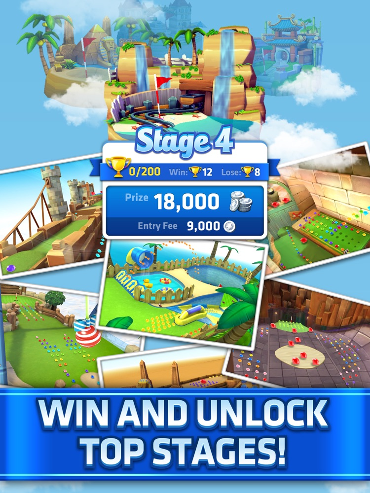 Mini Golf King - Multiplayer App for iPhone - Free ...