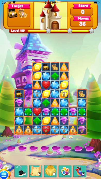 Mermaid Hunting Match3 Puzzle