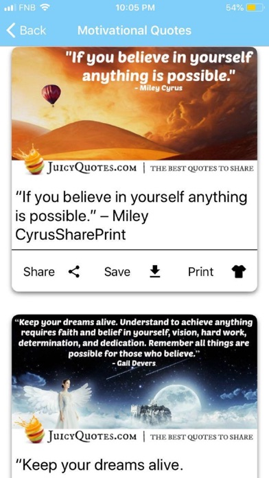 Juicy Quotes and Jokes screenshot