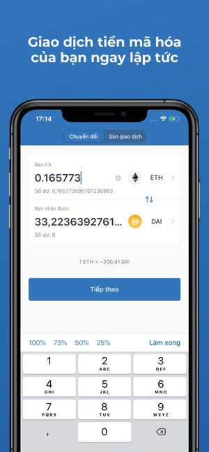 Trust: Ví tiền số & Bitcoin