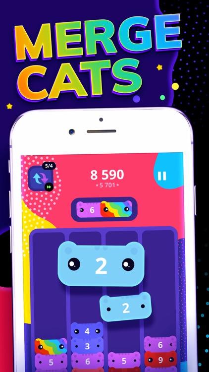 CATRIS - Merge Cat Game screenshot-0