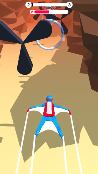 Wingsuit Fall & Break screenshot 1