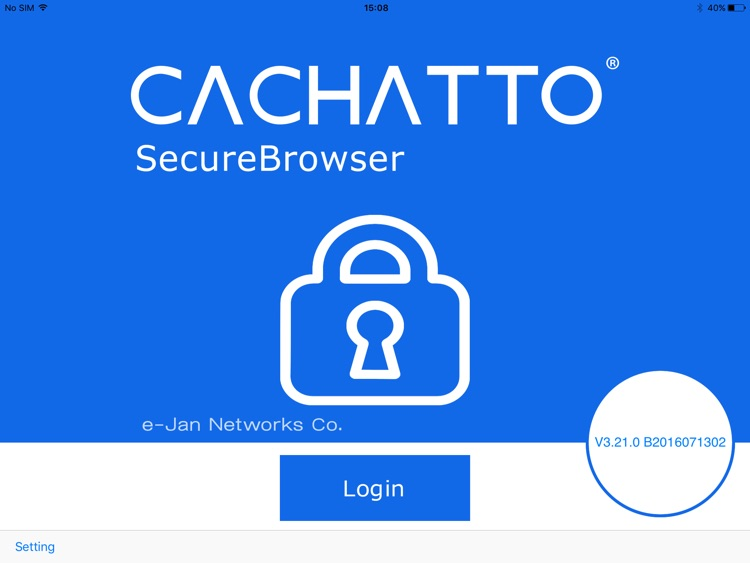 CACHATTO SecureBrowser V3 HD