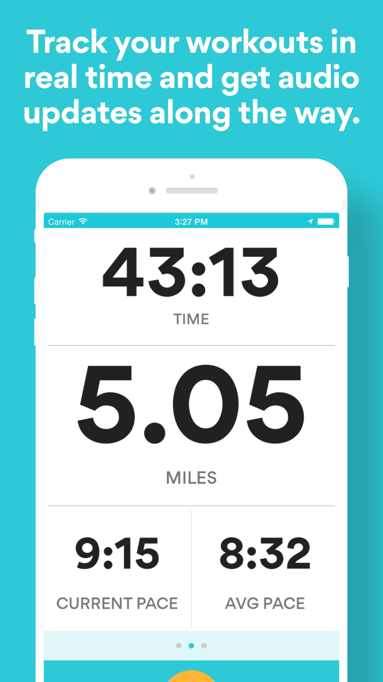 Runkeeper—GPS Running Tracker Screenshot
