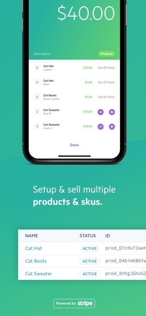 Payment - Stripe Card Charges on the App Store