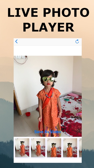 Screenshot for LiveG live photo to video in Austria App Store
