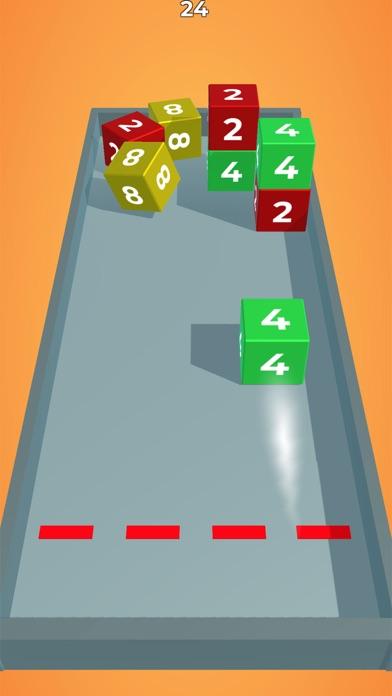 Chain Cube: 2048 3D merge game screenshot 4