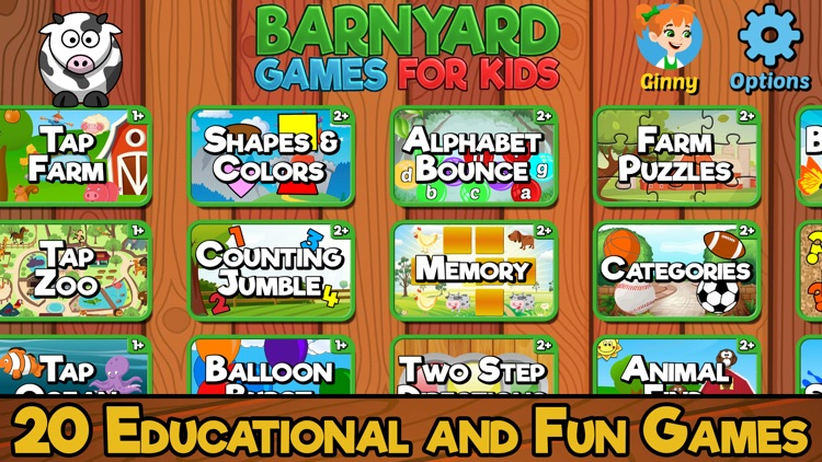 Barnyard Games For Kids screenshot-0