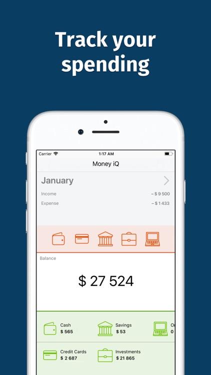 MoneyIQ: Budget Planner